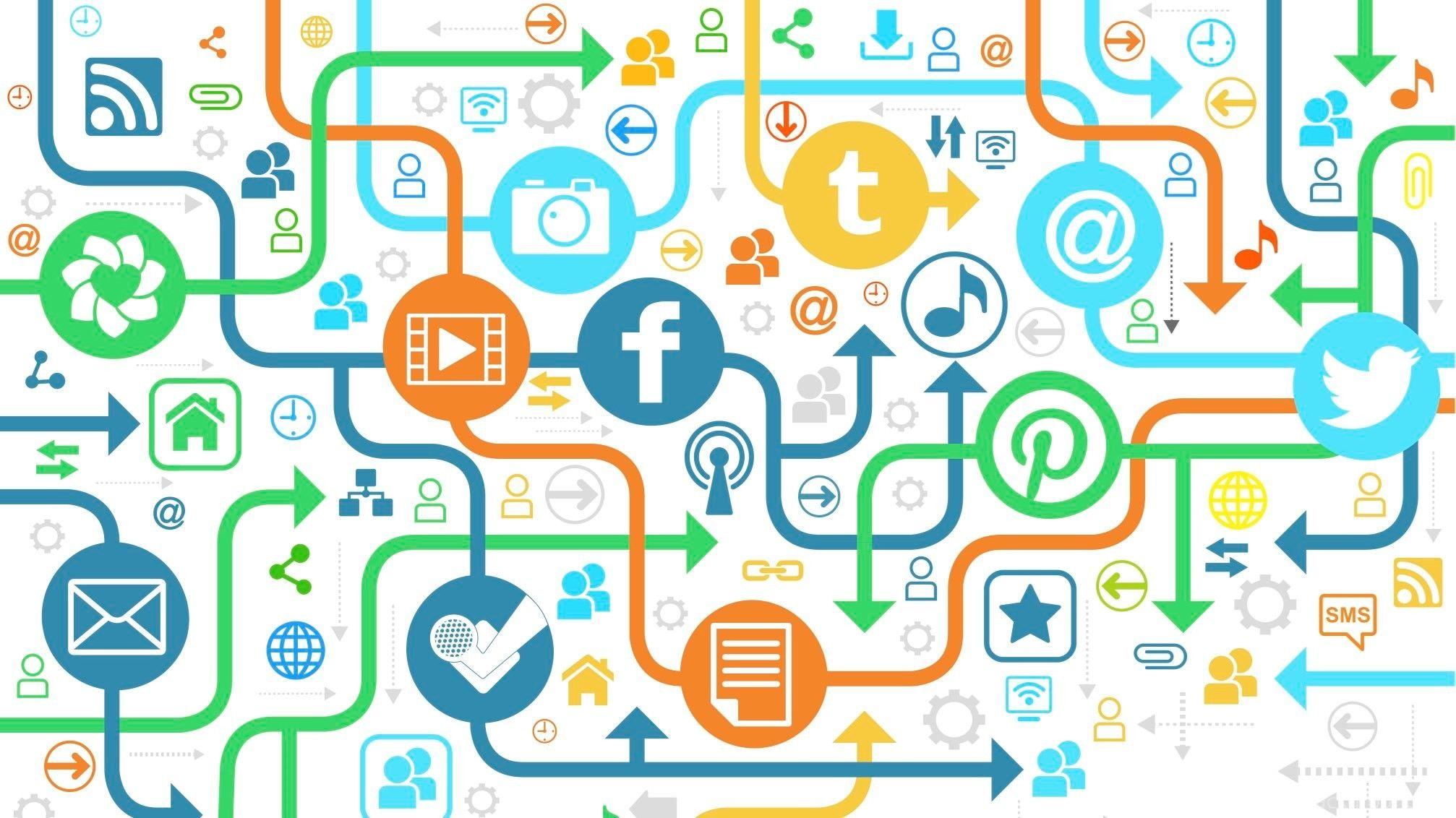 نقش شبکه های اجتماعی در بازاریابی محتوا