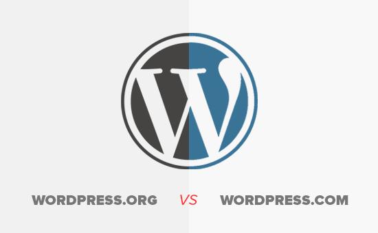 چه تفاوتی بین WordPress.org و WordPress.com وجود دارد؟